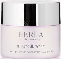 Herla Black Rose - Multiodżywcza maska eksfoliująca do twarzy 50 ml