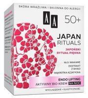 AA Japan Rituals 50+  Endo Lifting aktywny bio-krem na noc 50 ml
