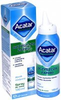 Acatar hipertonic spray do nosa 100 ml