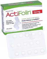 Actifolin 0,8 mg x 30 tabl