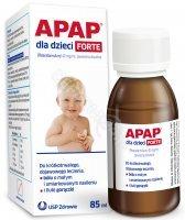 Apap dla dzieci FORTE 40 mg/ml zawiesina 85 ml
