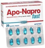 Apo-Napro fast x 20 kaps