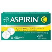 Aspirin c x 10 tabl musujących