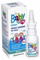 Babycap spray woda morska do nosa 1m+ 30 ml