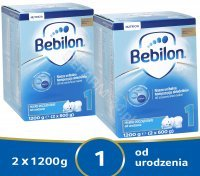 Bebilon 1 Pronutra ADVANCE w dwupaku 2 x 1200 g