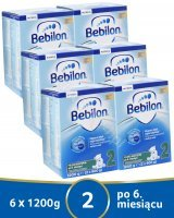 Bebilon 2 Pronutra ADVANCE w sześciopaku 6 x 1200 g