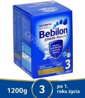 Bebilon junior 3 z pronutra+ 1200 g