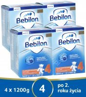 Bebilon junior 4 Pronutra ADVANCE w czteropaku 4 x 1200 g + mlekotorba GRATIS!!!