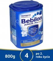 Bebilon junior 4 z pronutra+ 800 g