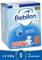Bebilon junior 5 Pronutra ADVANCE 1200 g