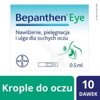 Bepanthen eye krople do oczu 0,5 ml x 10 szt