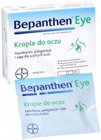 Bepanthen eye krople do oczu 0,5 ml x 20 szt
