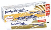 Beverly Hills Formula Natural White Total Protection Whitening wybielająca pasta do zębów 75 ml + 25 ml GRATIS !!!