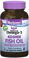 Bluebonnet Natural Omega-3 Kosher Fish oil x 60 żelków