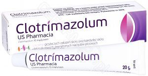 Clotrimazolum US Pharmacia 10mg/g krem 20 g