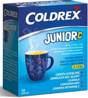 Coldrex Junior C x 10 sasz