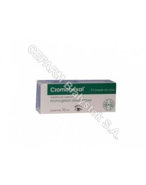 Cromohexal krople oczne 10 ml