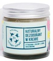 Cztery Szpaki naturalny dezodorant w kremie cytrusowo - ziołowy 60 ml
