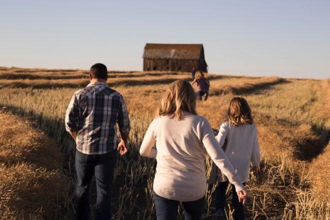 wychowanie dzieci pole