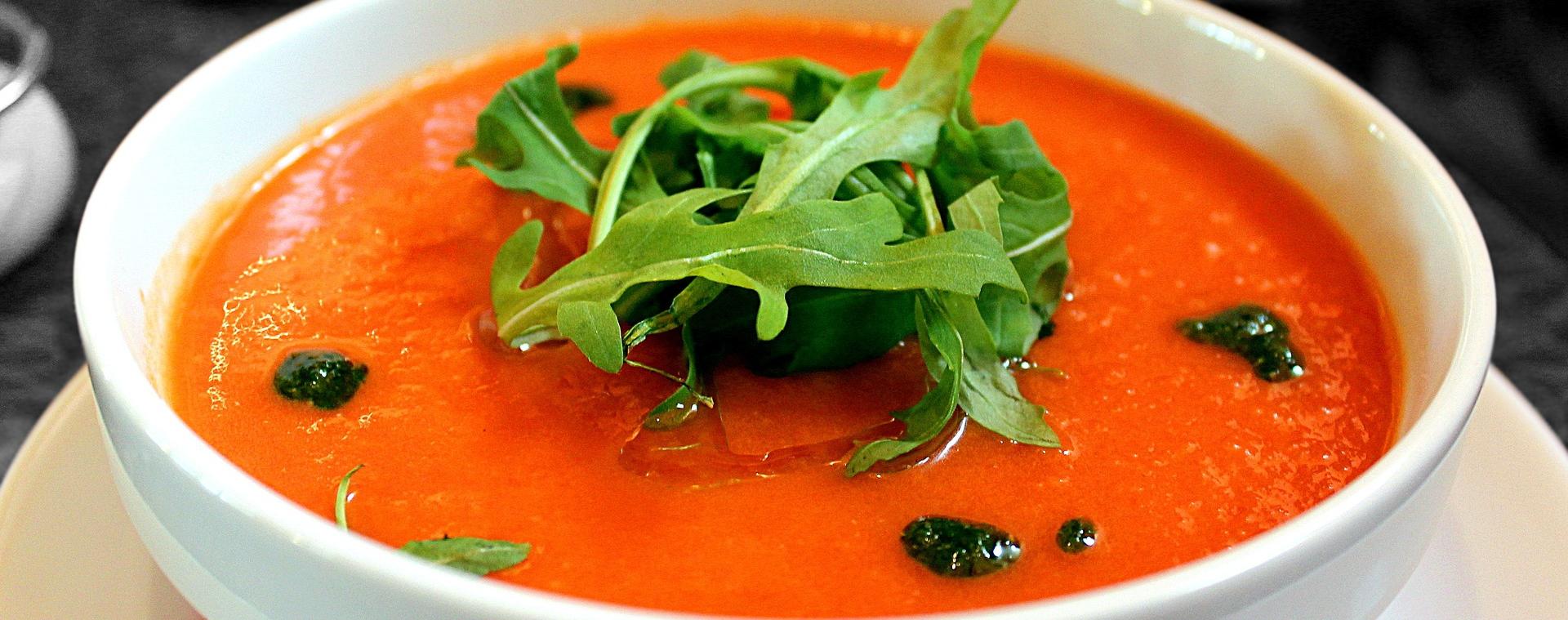 zupy są źródłem witamin i antyoksydantów