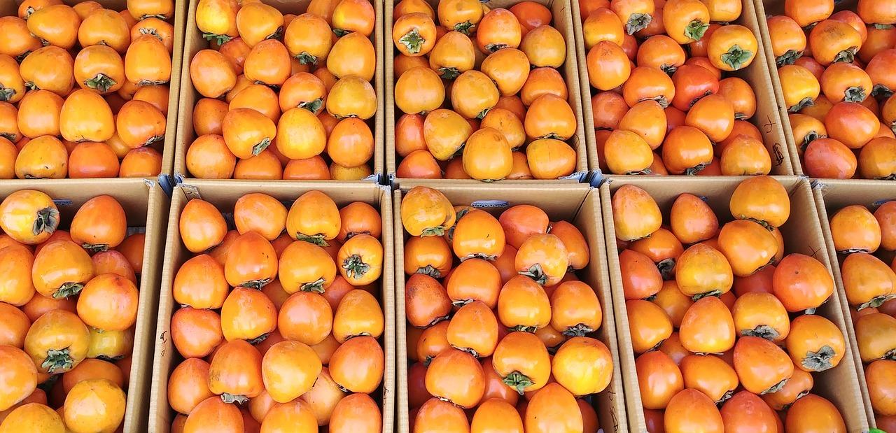 owoc kaki pochodzi z Chin