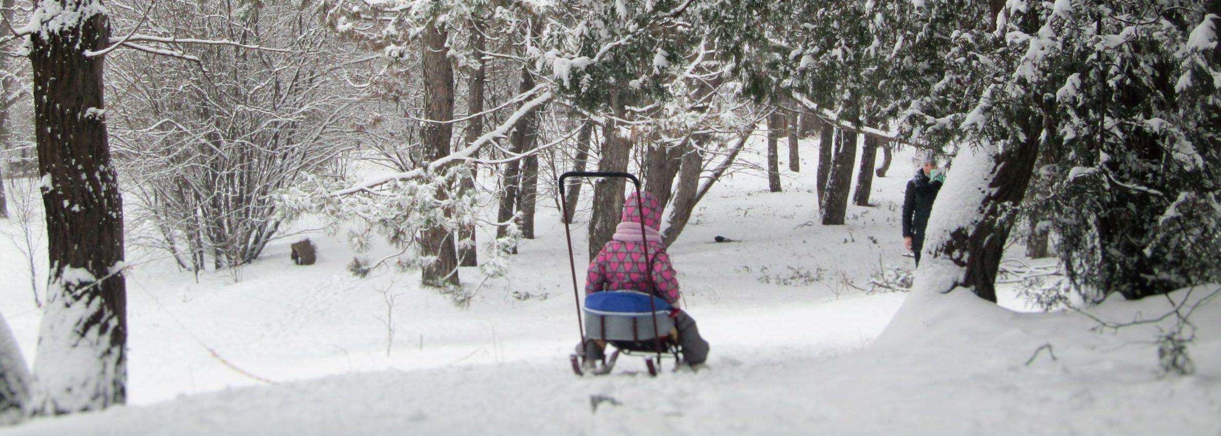 dziecko na feriach zimowych