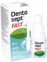 Dentosept fast spray 30 ml