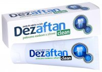Dezaftan clean pasta do zębów w żelu 75 ml