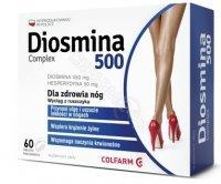 Diosmina 500 complex x 60 tabl