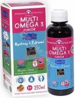 Domowa apteczka multi omega 3 Bystrzy i Zdrowi 250 ml ( smak owoców tropikalnych)