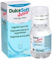 DulcoSoft Junior płyn doustny 100 ml