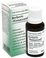Heel berberis homaccord krople 30 ml