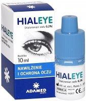 Hialeye 0,2% nawilżające krople do oczu 10 ml