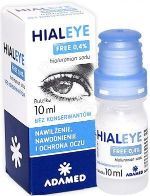 b3669c682c3c45 Hialeye Free 0,4% nawilżające krople do oczu 10 ml - Apteka ...