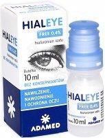 Hialeye Free 0,4% nawilżające krople do oczu 10 ml