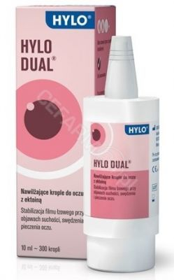 Hylo-Dual krople do oczu 10 ml
