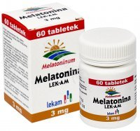 Melatonina 3 mg x 60 tabl