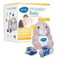 Inhalator Baby Sanity Rabbit + Aspirator do nosa Nosalek GRATIS !!!