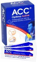 ACC Optima Active 600 mg x 10 sasz