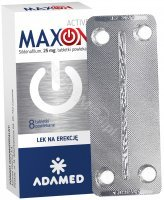 Maxon active 25 mg x 8 tabl