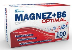 Magnez+B6 Optimal x 100 tabl