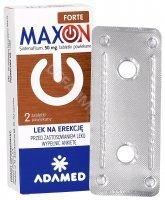 Maxon forte 50 mg x 2 tabl