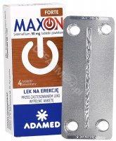 Maxon forte 50 mg x 4 tabl