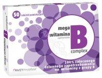 Mega witamina b complex x 50 tabl powlekanych