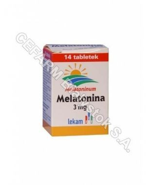 Melatonina 3 mg x 14 tabl