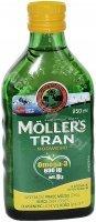 Moller's tran norweski o aromacie cytrynowym 250 ml