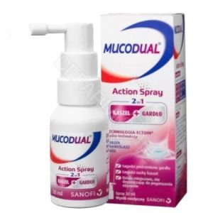 Mucodual Action 2w1 spray 20 ml