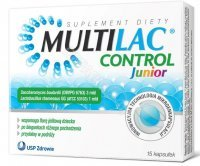 Multilac Control Junior x 15 kaps