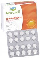 Naturell Beta-karoten + E x 60 tabl