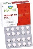 Naturell Witamina B12 forte x 60 tabl do ssania INSTANT + Folian x 20 tabl GRATIS !!!